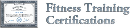 Fitness Training Certifications