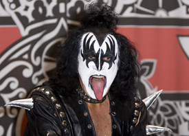 Gene Simmons taught high school English
