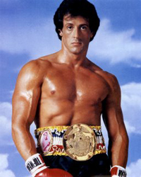 Sylvester Sly Stallone taught PE before acting in films such as Rocky